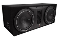 "Rockford Fosgate P1-2X10 Punch Dual P1 10"" 1000 Watts Max Loaded Enclosure"
