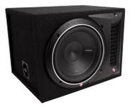 ROCKFORD FOSGATE P2-1X10 PUNCH P2 10 INCH SUBWOOFER ENCLOSURE 600 WATT