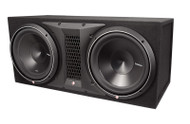 "Rockford Fosgate P3-2X12 Punch Dual P3 12"" Loaded Enclosure"
