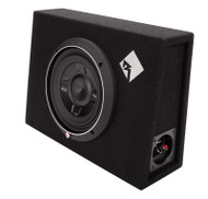 ROCKFORD FOSGATE P3S-1X8 PUNCH P3 8 INCH SHALLOW SUBWOOFER ENCLOSURE 300 WATT
