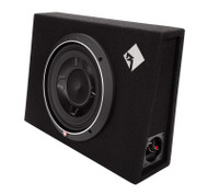 ROCKFORD FOSGATE P3S-1X10 PUNCH P3 10 INCH SHALLOW SUBWOOFER ENCLOSURE 600 WATT