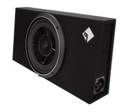 ROCKFORD FOSGATE P3S-1X12 PUNCH P3 12 INCH SHALLOW SUBWOOFER ENCLOSURE 800 WATT