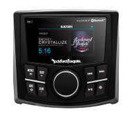 ROCKFORD FOSGATE PMX-2 MARINE COMPACT AM/FM/WB DIGITAL MEDIA RECEIVER WITH 2.7 INCH DISPLAY