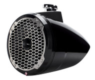 "Rockford Fosgate PM282HW-B Punch Marine 8"" 300 Watts Wakeboard Tower Speaker with Horn Tweeter - Black"