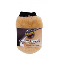 MEGUIAR'S LAMBSWOOL WASH MITT WITH BUG REMOVER