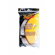 MEGUIAR'S HAND APPLICATOR PAD TWIN PACK