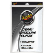 MEGUIAR'S TERRY TOWELLING CLOTHS TWIN PACK