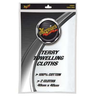 Meguiar's EPTOW Terry Toweling Cloths - Twin Pack