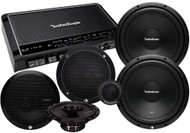 ROCKFORD FOSGATE PRIME SYSTEM 1 PACKAGE DEAL