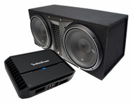 ROCKFORD FOSGATE PUNCH PACK 14 PACKAGE DEAL