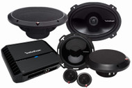 ROCKFORD FOSGATE PUNCH PACK 1 PACKAGE DEAL