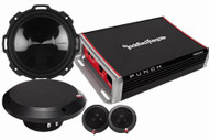 ROCKFORD FOSGATE PUNCH PACK 5 PACKAGE DEAL