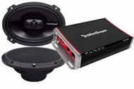 ROCKFORD FOSGATE PUNCH PACK 6 PACKAGE DEAL