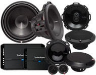 ROCKFORD FOSGATE PUNCH SYSTEM 1 PACKAGE DEAL