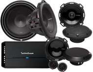 ROCKFORD FOSGATE PUNCH SYSTEM 2 PACKAGE DEAL