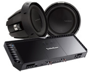 ROCKFORD FOSGATE POWER PACK 7 PACKAGE DEAL