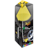 MEGUIAR'S BRILLIANT SOLUTIONS WHEEL POLISHING KIT