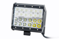 VILLAIN LIGHTING 167MM 72 WATT 4 ROW LED LIGHT BAR VIL-167DL-72