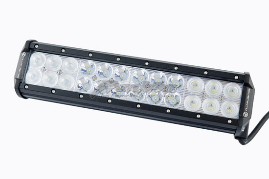 VILLAIN LIGHTING 360MM 72 WATT DUAL ROW LED LIGHT BAR VIL-360LB-72C