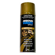 DESIGNER WRAPS SPRAY - METALLIC GOLD 300G