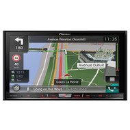 PIONEER AVIC-F80DAB 7 INCH PREMIUM TOUCHSCREEN NAVIGATION HEAD UNIT W/ APPLE CAR PLAY AND ANDROID AUTO
