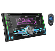 JVC KW-R910BT 2-DIN BLUETOOTH CD RECIEVER W/ USB/AUX & SMARPHONE PLAYBACK CONTROL