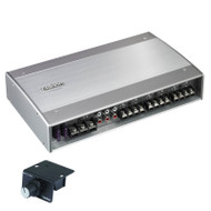 CLARION XC6620 6 CHANNEL CLASS D AMPLIFIER WITH BASS CONTROL 1000W