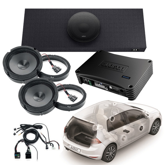 audison prima apsp g7 kit sound pack for vw golf mk7. Black Bedroom Furniture Sets. Home Design Ideas