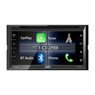 "JVC KW-V820BT 6.8"" Double Din Multimedia Receiver with Bluetooth & Apple CarPlay"
