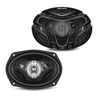 "JVC CS-ZX6940 drvn ZX Series 6X9"" 550W 4-Way Coaxial Car Speakers"