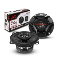 "JVC CS-DR420 220W 4"" DRVN Series 2-Way Coaxial Car Speakers"