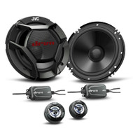 "JVC CS-DR600C DRVN 6.5"" 360W 2-Way Component Car Speaker System"