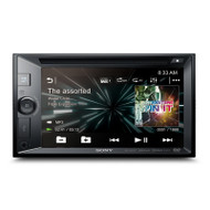 "Sony XAV-W651BT 6.2"" LCD Touch Screen iPhone/Android Bluetooth DVD Receiver"