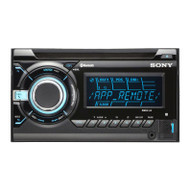Sony WX-900BT iPhone/Android/iPod/USB/Aux/CD Receiver with Bluetooth