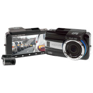 "Kapture KPT-942 3"" 1440P Quad HD Dash Camera with Rear View Camera"