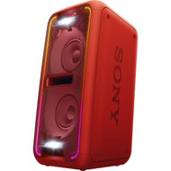 SONY GTK-XB7 BLUETOOTH PORTABLE HOME AUDIO WITH EXTRA BASS SPEAKER SYSTEM RED