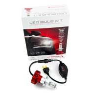 JW SPEAKER 4000 LED H4 HEADLIGHT BULB CONVERSION KIT 6200K