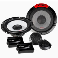 VIBE PULSE 6.5 INCH 2-WAY COMPONENT SPEAKER SYSTEM 240W PULSE6C-V4 WITH EXTERNAL TWEETER AND CROSOVER