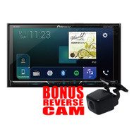 "PIONEER AVH-Z5050BT 7"" MULTIMEDIA PLAYER W/ APPLE CARPLAY & ANDROID AUTO - BONUS RCAMAVAIC REVERSE CAM"