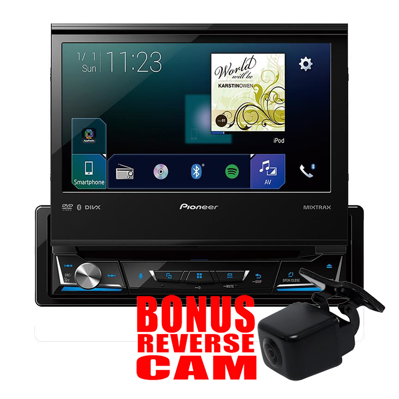 pioneer avhz7050bt multimedia unit carplay android auto. Black Bedroom Furniture Sets. Home Design Ideas