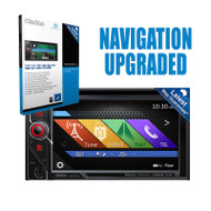 "CLARION VX506AUKIT1 6"" 2-DIN MULTIMEDIA PLAYER W/ SD506AU NAVIGATION UPGRADE"