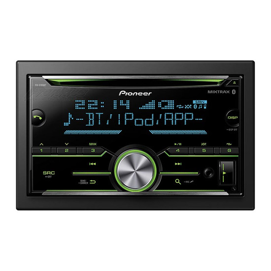 pioneer fh s705bt 2 din cd player frankie 39 s auto electrics. Black Bedroom Furniture Sets. Home Design Ideas