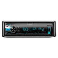 KENWOOD KDC-X400 Single Din Digital Media Receiver with Apple/Android/CD Support