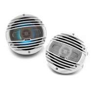 "HERTZ HMX6.5S-LD 6.5"" POWERSPORTS 2-WAY MARINE SPEAKERS W/ LED LIGHTING"