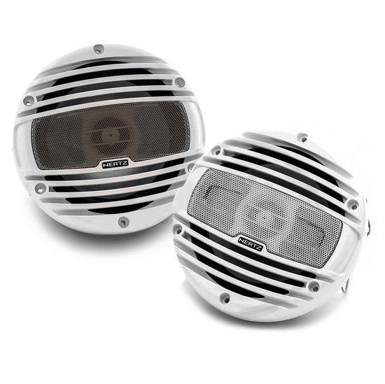 "HERTZ HMX8 8"" 2-WAY MARINE SPEAKERS 200W"