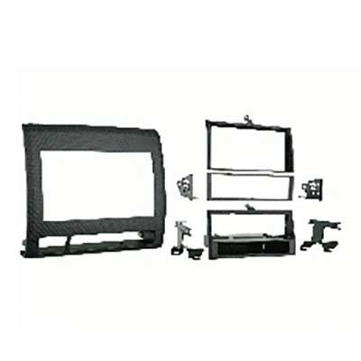 AERPRO FP998214 FACIA KIT TOYOTA TACOMA 2005-2008 BLACK SINGLE/2-DIN