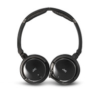 JVC HA-NC120 Noise Cancelling Headphones with Retractable Cord for Excellent Portability