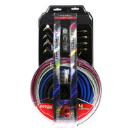 NAKAMICHI NAK404 4-CHANNEL 4AWG AMP WIRING KIT 2000W
