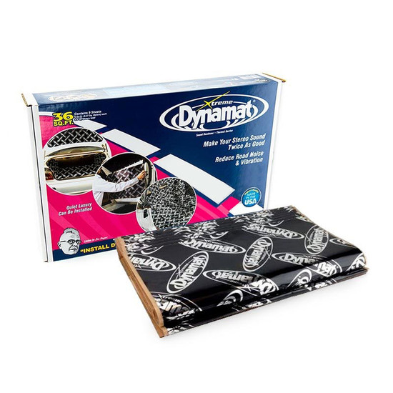 Dynamat Xtreme 10455 Black 9 Sheet Bulk Pack Sound Deadener