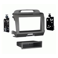 AERPRO 997344G FACIA KIT SUIT KIA SPORTAGE 2010-15-ON GREY 2-DIN